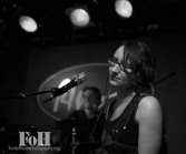 Karen Kowoski (keys) Ben Rollo (drums)