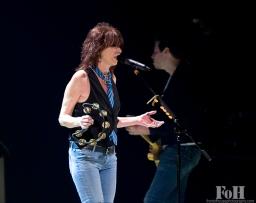 Chrissie Hynde - Toronto 10/30/14. 2014 FOH Photo