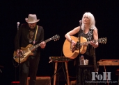Daniel Lanois and Emmylou Harris
