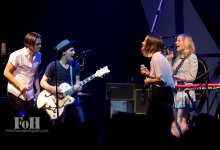 Whitehorse, live in Toronto 12/02/15with Peter Dreimanis & Leah Fay