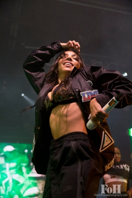 Tinashe live in Toronto 03/03/16 photo by Bobby Singh, Front of House Photography