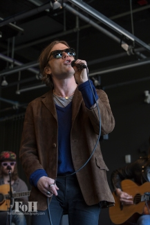 Cage The Elephant performs live at 102.1 The Edge in Toronto 05/09/16 photography by Bobby Singh