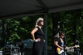 July, 22, 2016 - Oro-Medonte, Ontario, Canada: Canadian Indie rock band White Lung perform at WayHome Music & Arts Festival (Bobby Singh/Polaris).