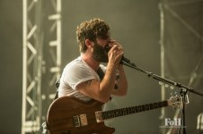 July, 22, 2016 - Oro-Medonte, Ontario, Canada: UK rock band Foals perform at the Wayhome Music & arts Festival (Bobby Singh/Polaris).