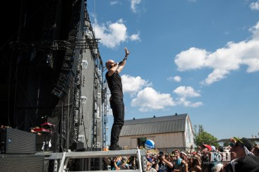 July, 23, 2016 - Oro-Medonte, Canada: American rock band X-Ambassadors perform at Wayhome Music & Arts Festival (Bobby Singh/Polaris).