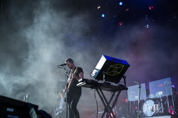 July, 23, 2016 - Oro-Medonte, Canada: Los Angeles-based, French band M83 performs at Wayhome Music & Arts Festival (Bobby Singh/Polaris).
