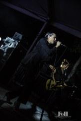 July, 23, 2016 - Oro-Medonte, Canada: UK post-punk band Savages perform a late night set at Wayhome Music & Arts Festival (Bobby Singh/Polaris).