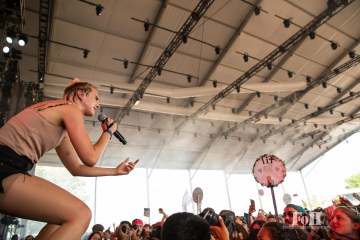 July, 24, 2016 - Oro-Medonte, Ontario, Canada: Danish pop star MØ performs at Wayhome Music & Arts Festival (Bobby Singh/Polaris).