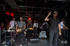 """August, 05, 2016: Toronto, Ontario, Canada - Arkells celebrate the release of their latest record """"Morning Report"""" with a live performance at Corus Entertainment's Sugar Beach Studios"""