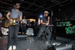 "Arkells ""Morning Report"" album release – Live at 102.1 The Edge"