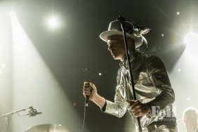 August, 016 2016: Hamilton, Ontario, Canada - The Tragically Hip perform one of their final concerts at First Ontario Centre in Hamilton. The Man Machine Poem Tour will be the bands final as lead singer Gord Downie was diagnosed with terminal brain cancer (Bobby Singh/www.fohphoto.com).