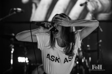 July Talk perform at The Danforth Music Hall, Toronto