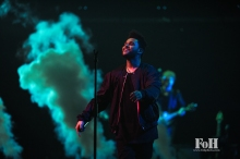 Toronto, Canada. 26th May, 2017. The Weeknd plays to a sold-out hometown crowd at The Air Canada Centre on his Starboy: Legend Of The Fall Tour. Credit: Bobby Singh/@fohphotoNews.