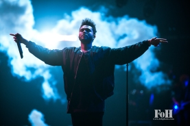 Toronto, Canada. 26th May, 2017. The Weeknd plays to a sold-out hometown crowd at The Air Canada Centre on his Starboy: Legend Of The Fall Tour. Credit: Bobby Singh/Alamy Live News.