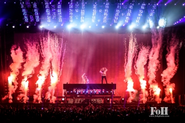 The Chainsmokers live in Toronto - photo by Angel Marchini Photography, for FOHPhoto