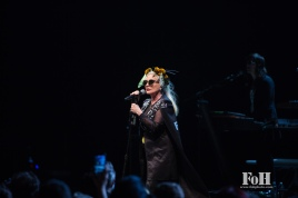 "Toronto, Canada. 26th July, 2017. New Wave icons Blondie perform at the Sony Centre in Toronto on their Rage and Rapture Tour in support of their latest record ""Pollinator"". Credit: Bobby Singh/@fohphoto"