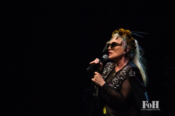 """Toronto, Canada. 26th July, 2017. New Wave icons Blondie perform at the Sony Centre in Toronto on their Rage and Rapture Tour in support of their latest record """"Pollinator"""". Credit: Bobby Singh/@fohphoto"""