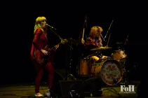 """Deap Vally open for Blondie on the """"Rage and Rapture"""" tour at The Sony Centre in Toronto"""
