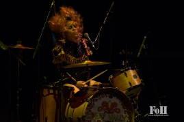 "Deap Vally open for Blondie on the ""Rage and Rapture"" tour at The Sony Centre in Toronto"