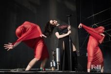 Banks performing at Wayhome Music & arts Festival - photo by Dawn Hamilton/@minismemories