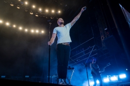 Imagine Dragons performing at Wayhome Music & arts Festival - photo by Dawn Hamilton/@minismemories