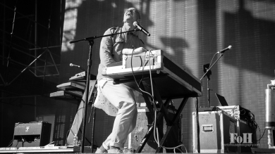 Mute Math performing at Wayhome Music & arts Festival - photo by Dawn Hamilton/@minismemories