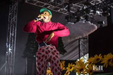 Tyler The Creator performing live at Panorama Festival in New York City