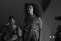 Solange performing live at Panorama Festival in New York City