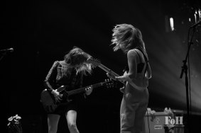 Bleached performing at Panorama in New York City