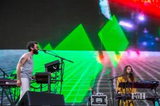MGMT performing live at Panorama Festival in New York City
