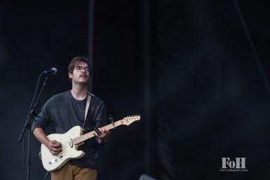 Pinegrove performing at Panorama in New York City