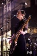 Mitski performing at Panorama in New York City