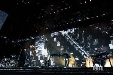 Nick Murphy (Chet Faker) performing at Panorama in New York City