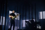 Alt-J performing at Panorama in New York City