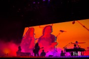 Tame Impala performing at Panorama in New York City