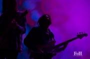 Tame Impala performing at Panorama in New York City