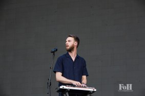 Honne performing live at Panorama Festival in New York City