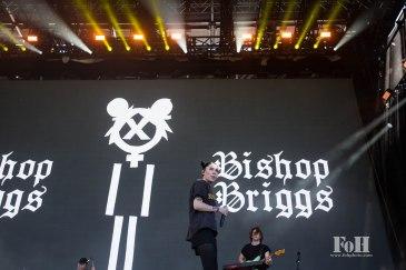Bishop Briggs performing at Panorama in New York City