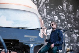 Andrew McMahon In The Wilderness performing at Panorama in New York City