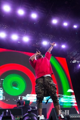 A Tribe Called Quest performing their final New York City show at Panorama in New York City