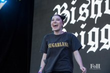 Bishop Briggs performing at Panorama in New York City