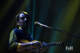 Dhani Harrison performing at Panorama in New York City