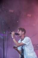 Glass Animals performing at Panorama in New York City
