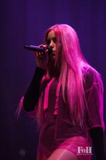 Kiiara performing at Panorama in New York City