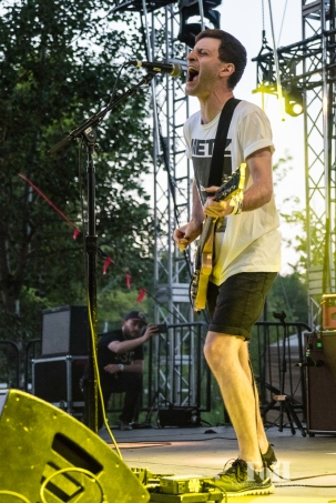 PUP performing at Wayhome Music & arts Festival - photo by Dawn Hamilton/@minismemories