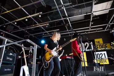 The Beaches perform live at Sugar Beach Studios, in Toronto