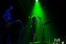 Weaves performing at The 2017 Polaris Music Prize Gala, accompanied by Tanya Tagaq