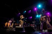 Megative performing at Hamilton Supercrawl